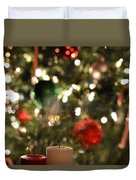 Candles For Christmas 4 Duvet Cover