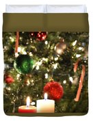 Candles For Christmas 5 Duvet Cover