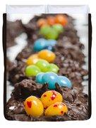 Candy Bird Nests  Duvet Cover