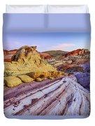 Candy Cane Desert Duvet Cover