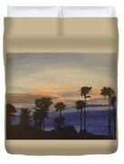 Candy-floss Sunset Duvet Cover