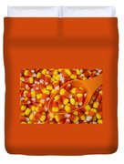Candy Corn Duvet Cover
