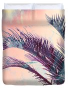 Candy Palms Duvet Cover