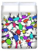 Candy Scatter Duvet Cover