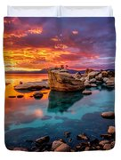 Candy Skies Duvet Cover