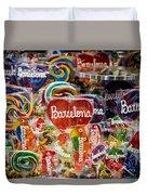 Candy Stand - La Bouqueria - Barcelona Spain Duvet Cover