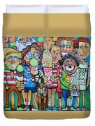 Candy Store Kids Duvet Cover