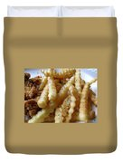 Canes Chicken French Fries Duvet Cover