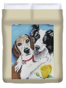 Canine Friends Duvet Cover
