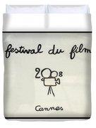 Cannes 2008 Duvet Cover