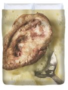 Cannibal Custard Duvet Cover
