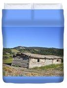 Canningham Cabin Grand Tetons National Park Duvet Cover