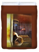 Cannon And Tuba Duvet Cover