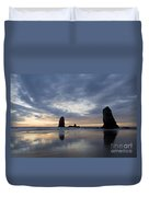 Cannon Beach At Sunset 5 Duvet Cover