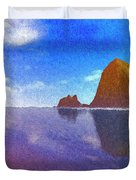 Cannon Beach Duvet Cover