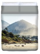 Cannon Beach Oceanfront Vacation Homes Duvet Cover