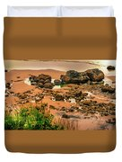 Cannon Beach, Oregon 3 Duvet Cover by Shiela Kowing