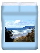 Cannon Beach Vista Duvet Cover