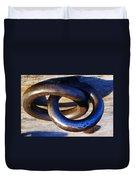 Cannon Rings Duvet Cover