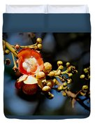 Cannonball Flower Duvet Cover