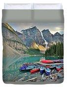 Canoe Paradise Duvet Cover