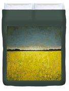 Canola Field N0 1 Duvet Cover