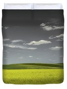 Canola Hills And Dales Duvet Cover