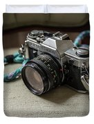 Canon Ae-1 Film Camera Duvet Cover