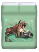 Canon Pups Duvet Cover