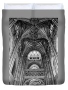 Canterbury Cathedral - Interior Duvet Cover