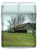 Cantilever Barn Sevier County Tennessee Duvet Cover