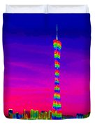 Canton Tower  Duvet Cover