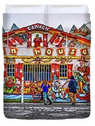 Canuck Funhouse Duvet Cover