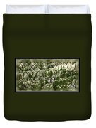 Canvas Of Cacti Duvet Cover