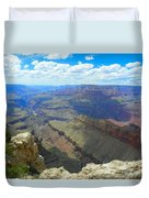 Canyon And Sky  Duvet Cover