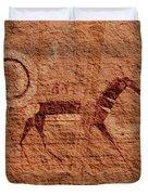 Canyon De Chelly Rock Art Duvet Cover