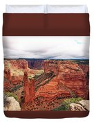 Canyon De Claire - New Mexico Duvet Cover