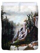 Canyon Falls Duvet Cover