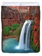 Canyon Falls Vertical Duvet Cover