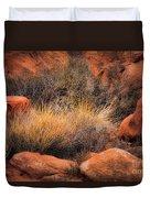 Canyon Grasses Duvet Cover
