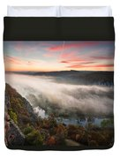 Canyon Of Mists Duvet Cover by Evgeni Dinev