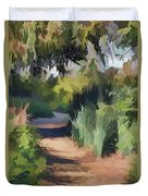 Canyon Path II Painterly Duvet Cover
