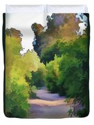Canyon Path IIi Painterly Duvet Cover