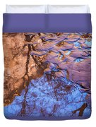 Canyon Reflections Duvet Cover