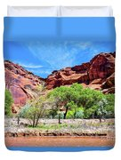 Canyon Wall. Duvet Cover