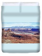 Canyonland Panorama Duvet Cover