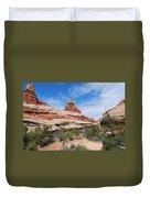 Canyonlands Spring Landscape Duvet Cover