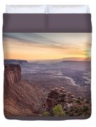 Canyonlands Sunrise Duvet Cover