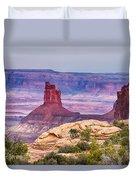 Canyonlands Utah Views Duvet Cover