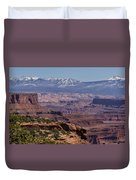 Canyons Of Dead Horse State Park Duvet Cover